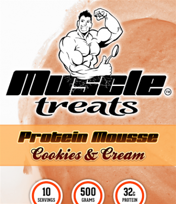 Cookies and Cream Protein Mousse